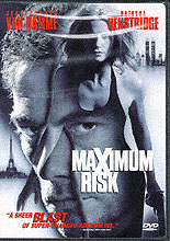 'Maximum Risk' DVD cover