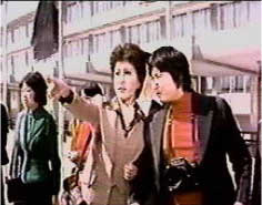 Betty Ting and Sammo Hung